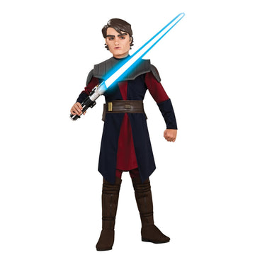 Anakin Skywalker Deluxe Boys Costume Large - Anakin Halloween Costume Boys