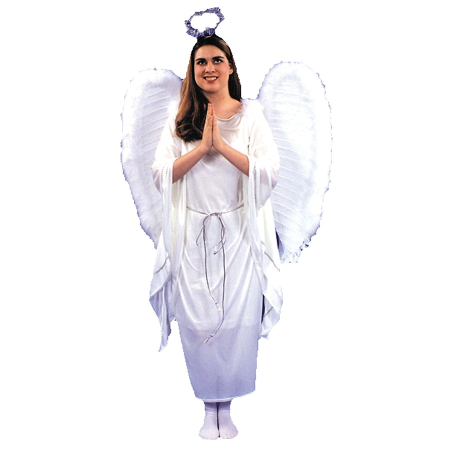 Angel Dress 1 Sz - adult halloween costumes Angel & Fairy Costume female