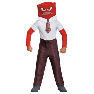 Anger Classic Boys Costume Medium 7-8 - Boys Costumes boys Halloween costume