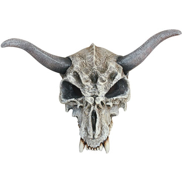 Animal Skull Adult Latex Mask - Costume Masks Ghoul Skeleton & Zombie Costume