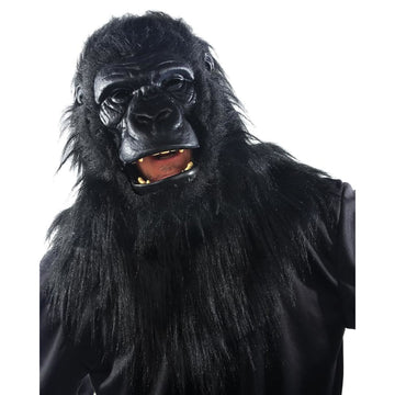 Animated Animal Gorilla Mask - Animal & Insect Costume Costume Masks Halloween