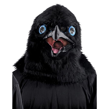 Animated Animal Raven Mask - Animal & Insect Costume Costume Masks Halloween