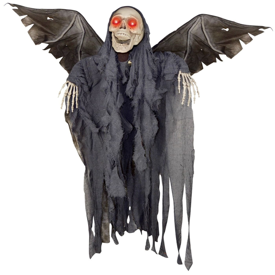 Animated Winged Reaper - Decorations & Props Halloween costumes haunted house