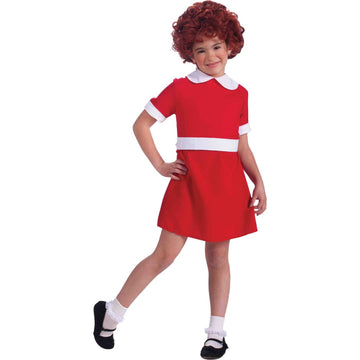 Annie Child Costume Sm 4-6 - Annie Halloween Costume Girls Costumes girls