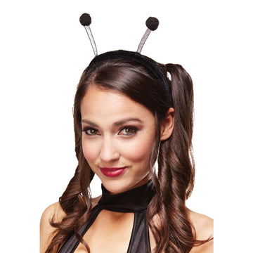 Antenna Headband Black - Animal & Insect Costume Halloween costumes Hats Tiaras
