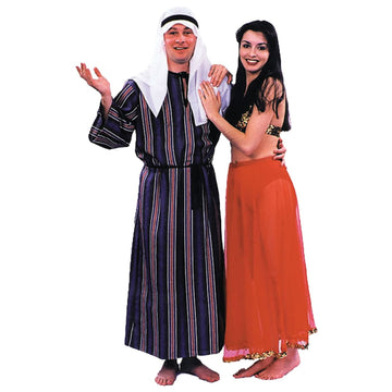 Arab Sheik 1 Sz - adult halloween costumes Belly Dancer & Eastern Costume
