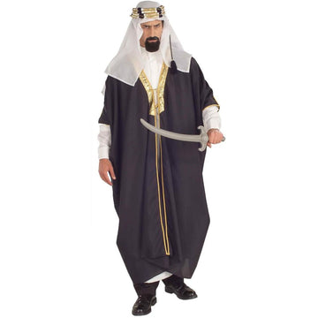 Arab Sheik Adult Costume - adult halloween costumes Belly Dancer & Eastern