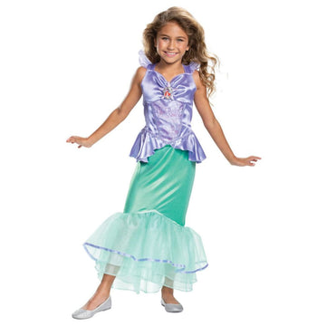 Ariel Classic Girls Costume 4-6 - Boys Costumes Girls Costumes New Costume