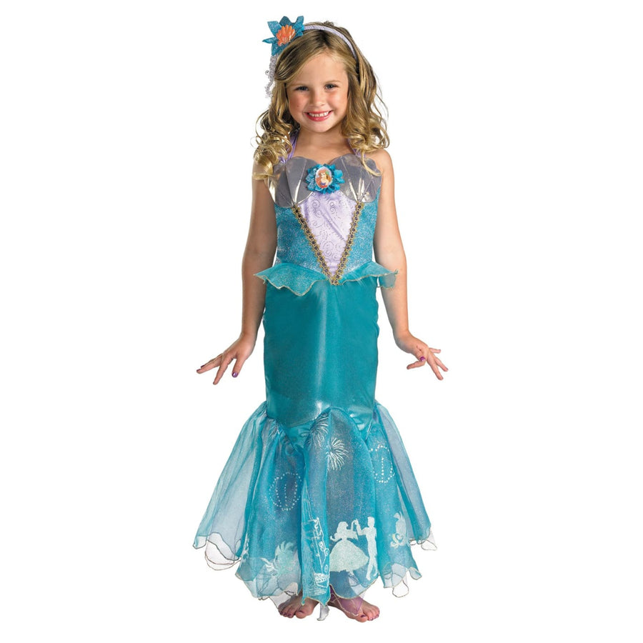 Ariel Prestige Child Sz 7-8 - Ariel Halloween Costume Disney Costume Fairytale