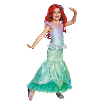 Ariel Ultra Prestige Girls Costume 3T-4T - Girls Costumes New Costume