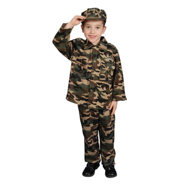 Army Boys Costume Sm 4-6 - Boys Costumes boys Halloween costume Halloween
