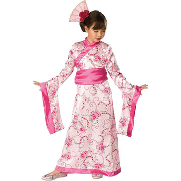 Asian Princess Kids Costume Md - Geisha Costume Girls Costumes girls Halloween
