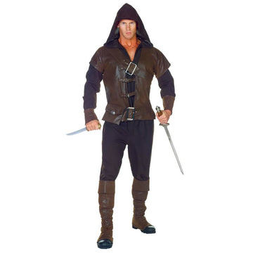Assassin Mens Adult Costume One Sz 42-44 - adult halloween costumes Game Costume