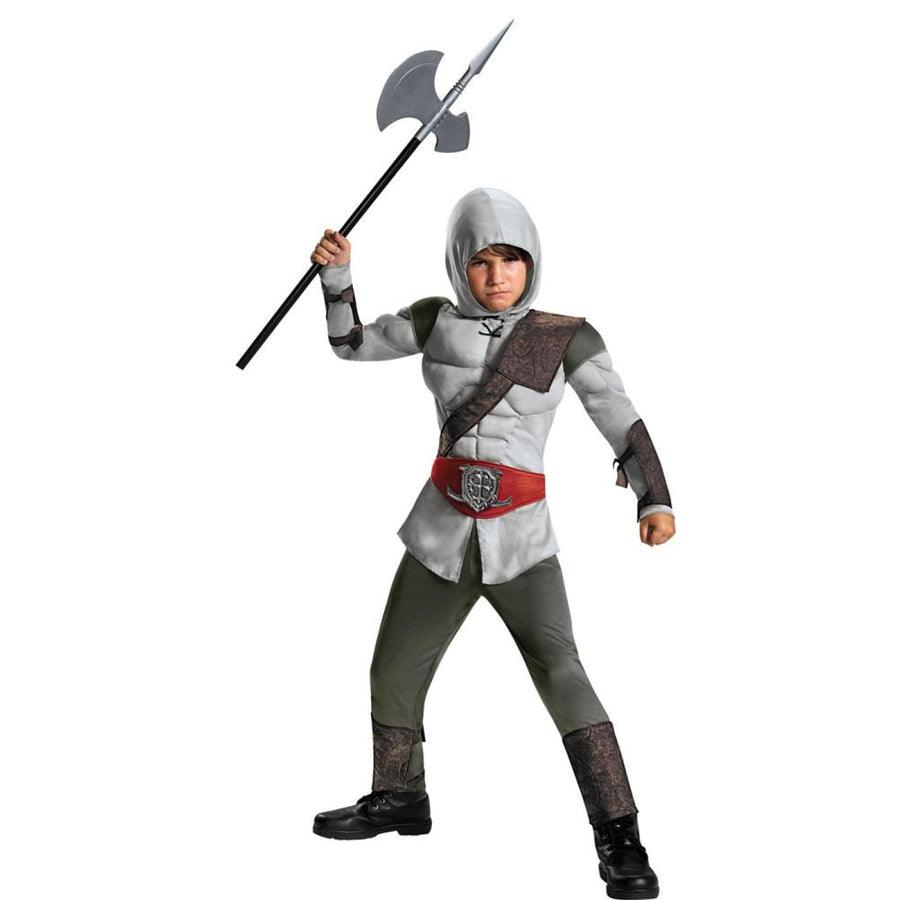 Assassin Muscle Boys Costume Small 4-6 - Boys Costumes boys Halloween costume