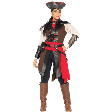 Assassins Creed Aveline 8 Piece Adult Costume Small - adult halloween costumes