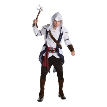 Assassins Creed Connor Adult Costume Xlarge - adult halloween costumes Game