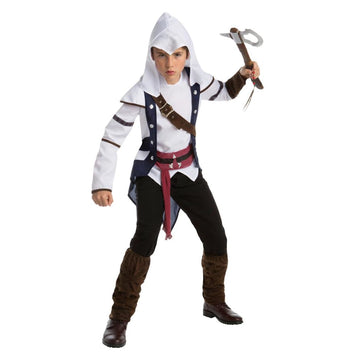 Assassins Creed Connor Teen Costume 14-16 - adult halloween costumes Game