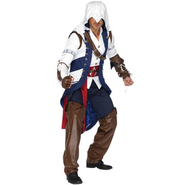 Assassins Creed Connor Teen Costume Sm-Md - adult halloween costumes Game