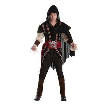 Assassins Creed Ezio Adult Costume Large - adult halloween costumes Game Costume