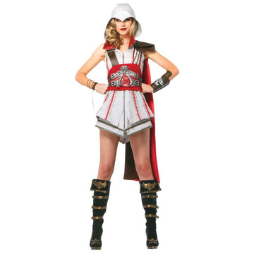Assassins Creed Ezio Adult Costume Md - Game Costume Halloween costumes
