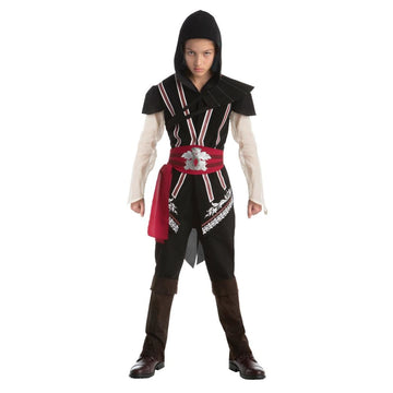 Assassins Creed Ezio Teen Costume 14-16 - adult halloween costumes Game Costume