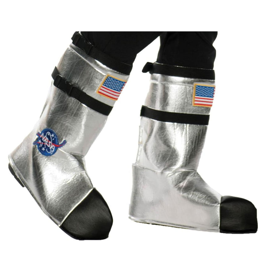 Astro Boot Tops Kids Costume Silver - Astro Boot Tops Kids Costume Silver