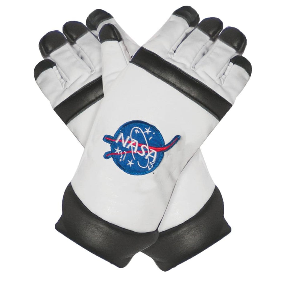 Astro Gloves Kids Costume White - Astro Gloves Kids Costume White Costume Gloves
