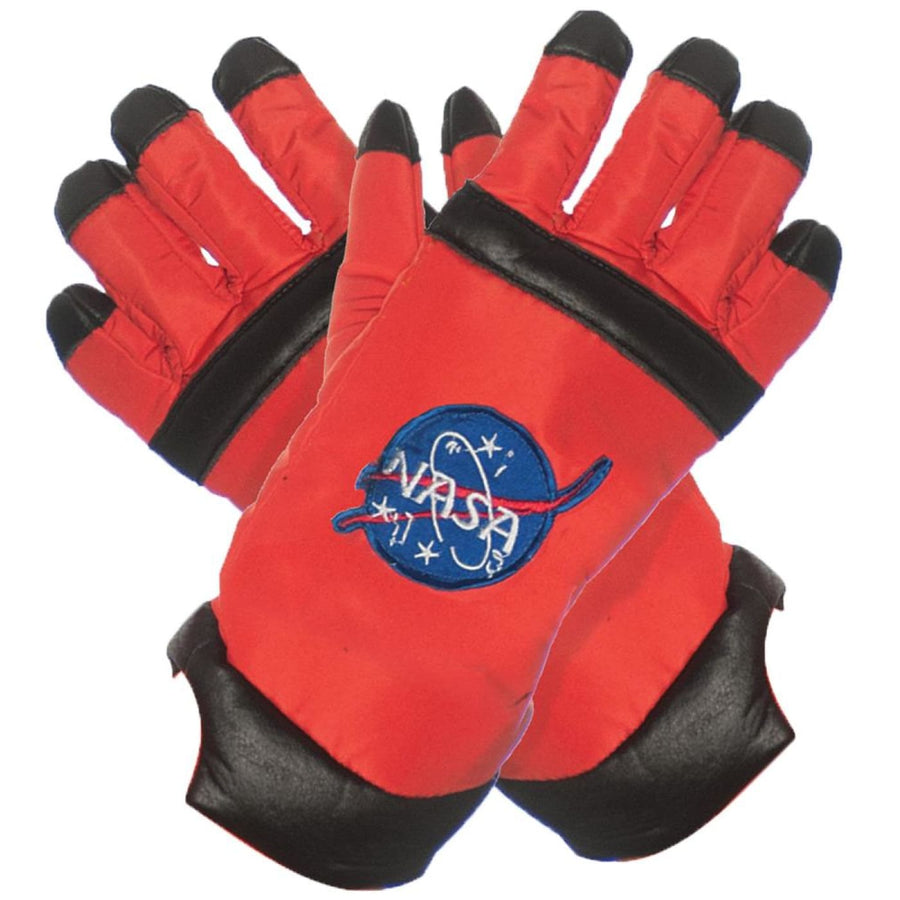 Astro Gloves Kids Orange - Astro Gloves Kids Orange Costume Gloves Glasses