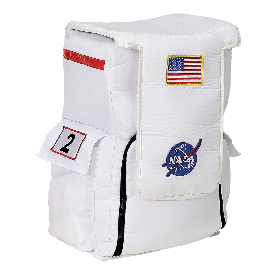 Astronaut Back Pack White - Halloween costumes Military & Uniform Costume