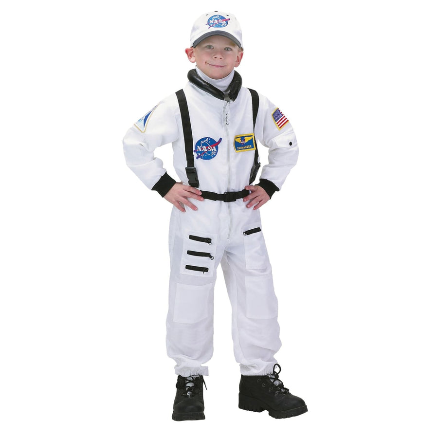 Astronaut Suit White 4-6 - Boys Costumes boys Halloween costume featured