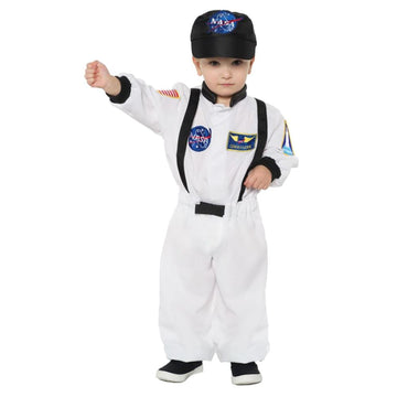 Astronaut White Toddler Costume 2T-4T - New Costume Toddler Costumes