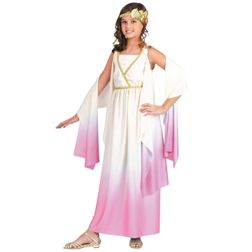 Athenus Pink Ombre Child 8-10 - Girls Costumes girls Halloween costume Greek &