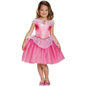 Aurora Classic Girls Costume 7-8 - Disney Costume Girls Costumes Halloween