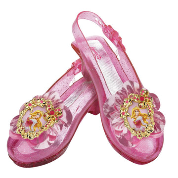 Aurora Sparkle Child Shoes - Disney Costume Fairytale Costume Royalty & Princess