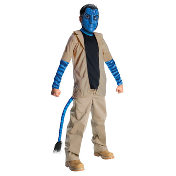Avatar Jake Suley Boys Costume Sm - Avatar Costume Avatar Halloween Costume Boys