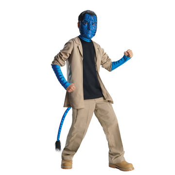 Avatar Jake Sulley Boys Costume Deluxe Md - Avatar Costume Avatar Halloween