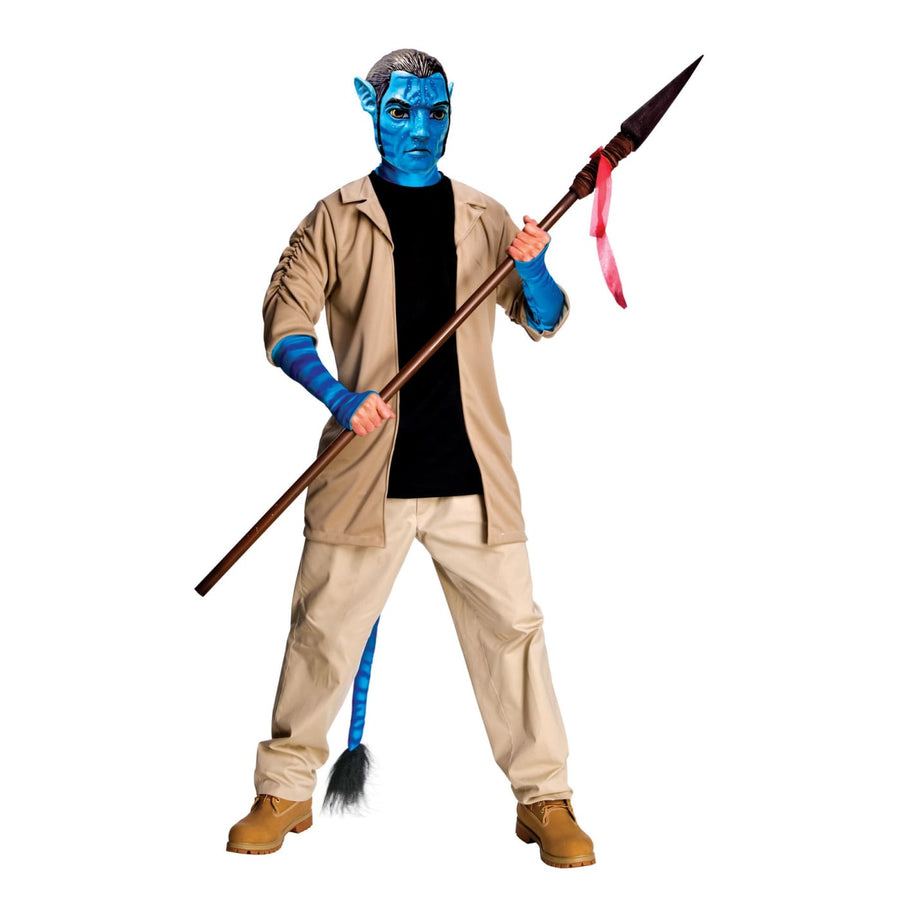 Avatar Jake Sulley Dlx Adult Xl - adult halloween costumes Avatar Costume Avatar