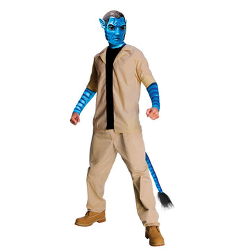 Avatar Jake Sully Adult Xlg - adult halloween costumes Avatar Costume Avatar