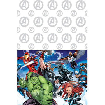 Avengers Party Table Cover - Birthday Party Decorations Birthday Party Plates