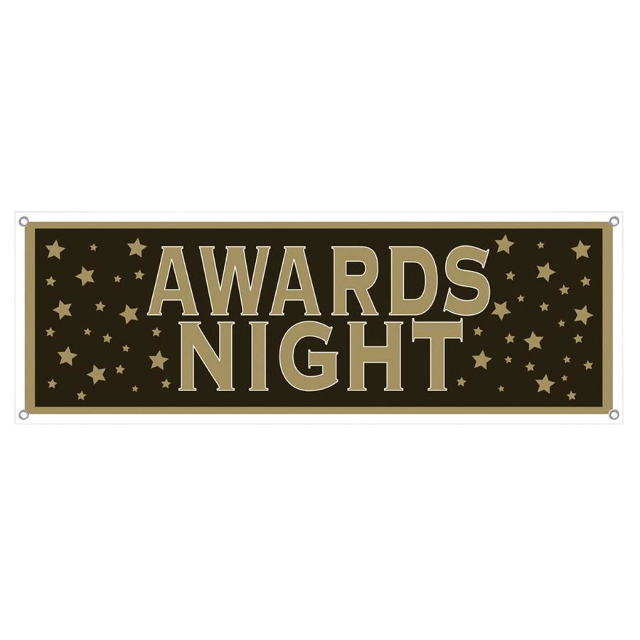 Awards Night Banner 21Inx5Ft - Decorations & Props Halloween costumes haunted