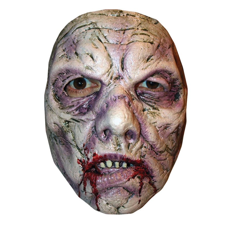 B Spaulding Zombie 1 Adult Costume Face Mask - Costume Masks Ghoul Skeleton &