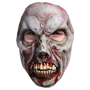 B Spaulding Zombie 7 Adult Costume Face Mask - Costume Masks Ghoul Skeleton &