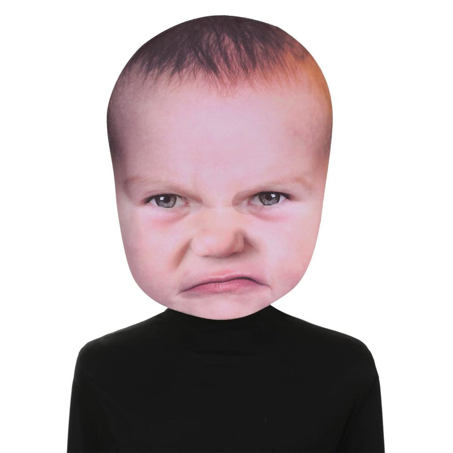 Baby Angry Face Mask - Costume Masks Halloween costumes Halloween Mask Halloween