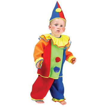 Baby Bobo Clown Toddler Costume T2-T4 - Clown & Mime Costume clown costumes