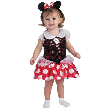 Baby Minnie Toddler Costume 12-18 Months - Animal & Insect Costume Baby