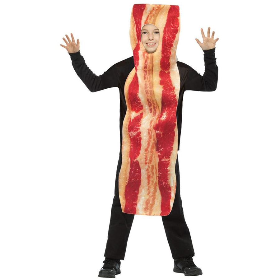 Bacon Strip Boys Costume Medium 7-10 - Boys Costumes Food & Drink Costume