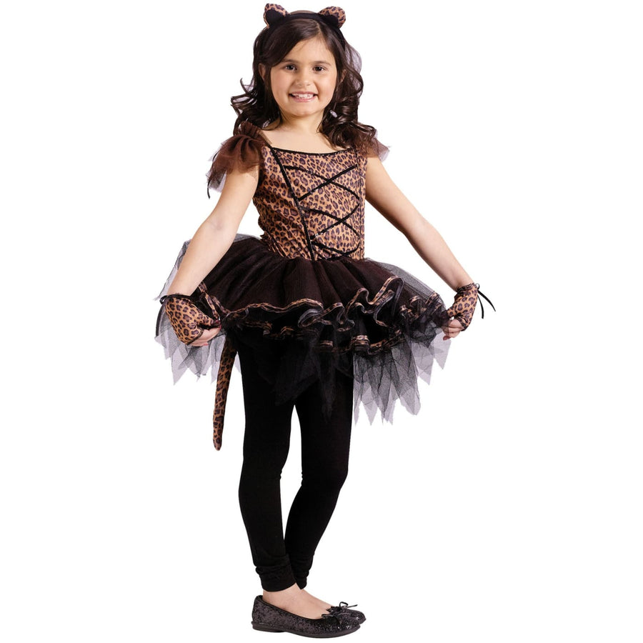 Ballerina Leopard Child 12-14 - Animal & Insect Costume Girls Costumes girls