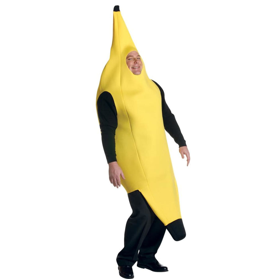 Banana Deluxe Plus Size Adult Costume - adult halloween costumes Food & Drink
