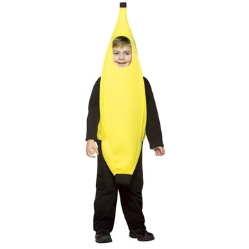Banana Kids Costume Small 4-6 - Boys Costumes Food & Drink Costume Girls