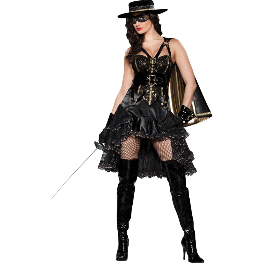 Bandita Adult Costume XSm 0-2 - adult halloween costumes female Halloween